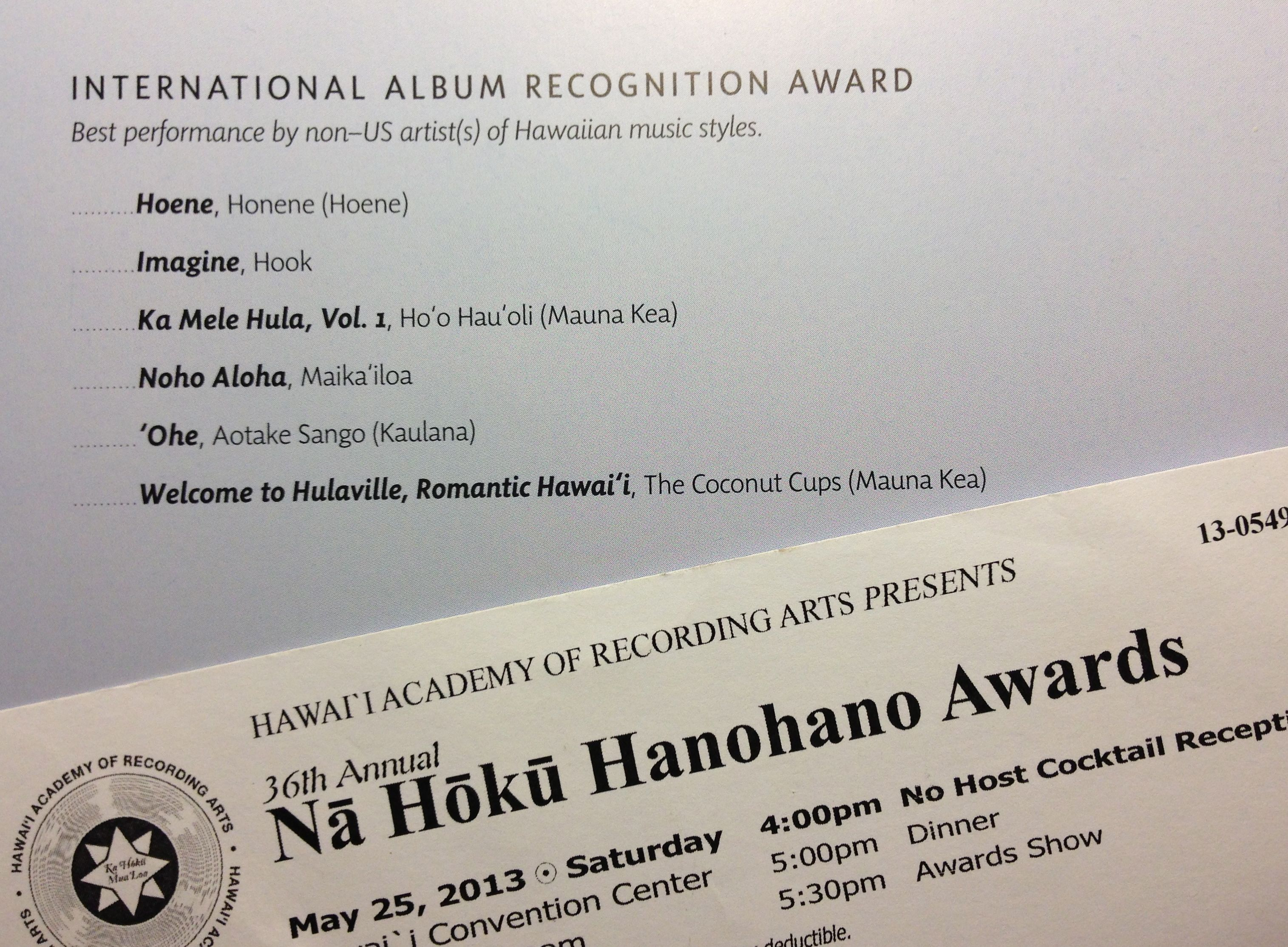 Na-Hoku-Ticket